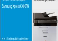 Samsung Xpress SL-C480FN Treiber